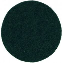 Helmet Plate Centre Backcloth - Yorkshire Regiment 45mm Green Disc  Felt Badge Backing