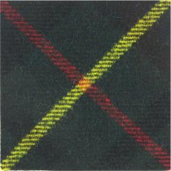 Canadian Scottish Regiment Hunting Stewart  Tartan Badge Backing