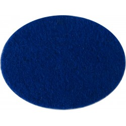 Northamptonshire Yeomanry - 2nd Regiment (WW2) Blue Oval Insert  Felt Badge Backing