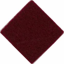 4th/7th Royal Dragoon Guards: Officers & WO's Beret 3cm Maroon Diamond  Felt Badge Backing