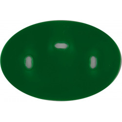 Parachute Regiment Recruits / P Company Green Oval  Plastic Badge Backing