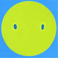 Royal Air Force Apprentice - Yellow Disc 57mm Diameter  Plastic Badge Backing