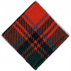 32nd (Scottish) Signal Regiment (Volunteers) Grant Tartan Diamond  Tartan Badge Backing