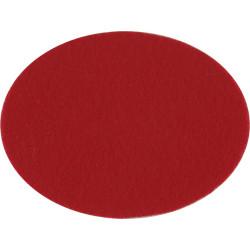 South Lancashire Regiment (Prince Of Wales's Vols) Red Oval Insert  Felt Badge Backing