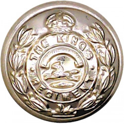 Gurkha Transport Regiment - 1965-1992 19.5mm - Black with Queen Elizabeth's Crown. Anodised Staybrite military uniform button