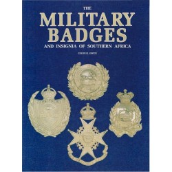 Military Badges And Insignia Of Southern Africa Colin R Owen (1990)   Insignia Reference Book