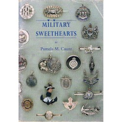 Military Sweethearts - 1st Edition (1994) Pamela M Caunt   Insignia Reference Book