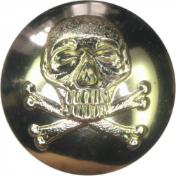 17th/21st Lancers (also Queen's Royal Lancers) 19.5mm - Gold Colour  Anodised Staybrite military uniform button