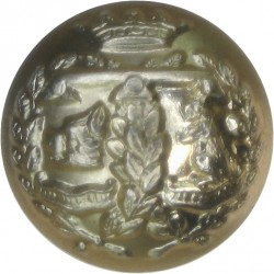 Argyll & Sutherland Highlanders (Princess Louise's) 18mm - Gold Colour  Anodised Staybrite military uniform button