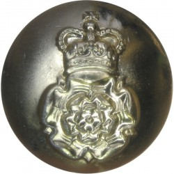 Australian Army Intelligence Corps 25.5mm - Gold Colour with Queen Elizabeth's Crown. Anodised Staybrite military uniform button