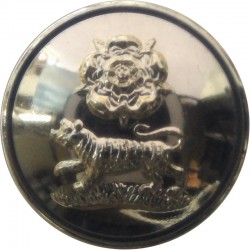 York And Lancaster Regiment - 1959-1968 26mm - Gold Colour  Anodised Staybrite military uniform button