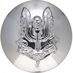 Special Air Service Regiment 19.5mm Silver Colour  Anodised Staybrite military uniform button