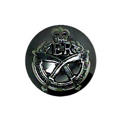 250 (QO Dorset & West Somerset Yeomanry) Med Regt RA 25.5mm Silver Colour  Anodised Staybrite military uniform button