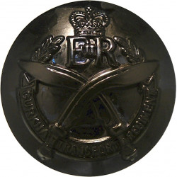 250 (QO Dorset & West Somerset Yeomanry) Med Regt RA 19.5mm Silver Colour  Anodised Staybrite military uniform button