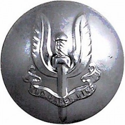 Special Air Service Regiment 25mm Silver Colour  Anodised Staybrite military uniform button