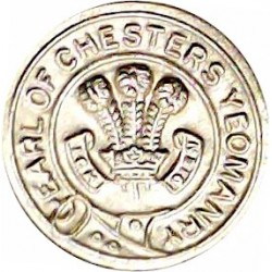 80 (Cheshire Yeomanry) Signal Sqn 33 Signal Regt (V) 17mm - Gold Colour  Anodised Staybrite military uniform button