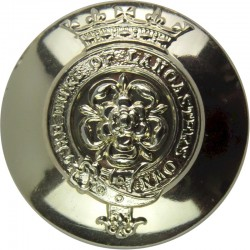 Duke of Lancaster's Own Yeomanry 24mm - Gold Colour  Anodised Staybrite military uniform button