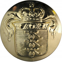 Royal Army Dental Corps 19mm - Screw-Fit with Queen Elizabeth's Crown. Anodised Staybrite military uniform button