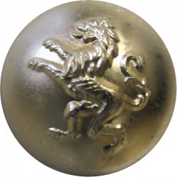 Belgian Army 17mm - Gold Colour  Anodised Staybrite military uniform button