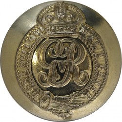 Colonels And Brigadiers - GvR 24mm - 1911-1936 with King's Crown. Brass Military uniform button