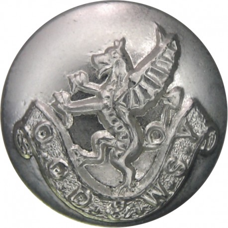 Queen Alexandra's Royal Army Nursing Corps 16.5mm - Screw-Fit with Queen Elizabeth's Crown. Anodised Staybrite military uniform