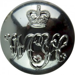 Royal Marines - Lion FR (Rare Direction) 14mm - Gold Colour with Queen Elizabeth's Crown. Anodised Staybrite military uniform bu