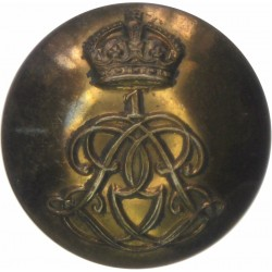 1st Life Guards 27mm - 1902-1922 with King's Crown. Brass Military uniform button