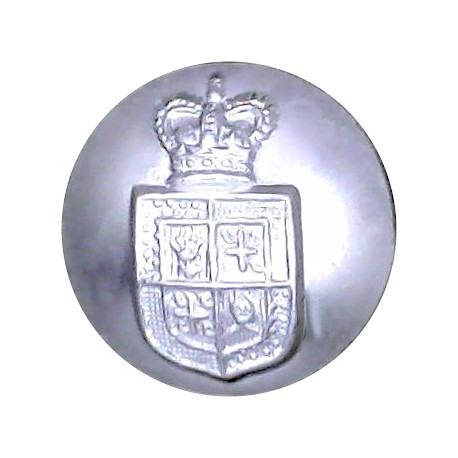 41 (Princess Louise's Kensington) Signal Squadron 19mm Silver Colour with Queen Elizabeth's Crown. Anodised Staybrite military u