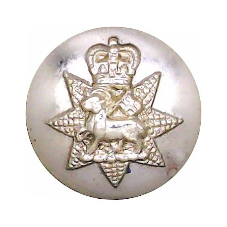 Cambridge University Officers Training Corps 15mm - Gold Colour with Queen Elizabeth's Crown. Anodised Staybrite military unifor