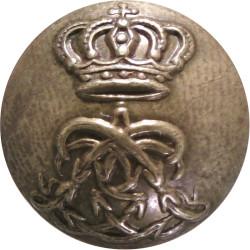 1st Life Guards 16mm - Pre-1902  Brass Military uniform button