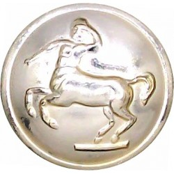 Royal Army Veterinary Corps 19mm - Gold Colour  Anodised Staybrite military uniform button