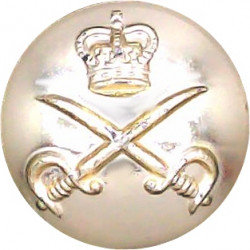 Leeds University Officers Training Corps 18mm - Gold Colour  Anodised Staybrite military uniform button