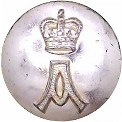 Manchester University Officers Training Corps 25mm - Gold Colour Anodised Staybrite military uniform button