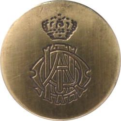 11th Hussars (Prince Albert's Own) Blazer Button 15mm Flat Indented  Brass Military uniform button