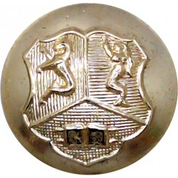 Birmingham University Officers Training Corps 25mm - Gold Colour  Anodised Staybrite military uniform button