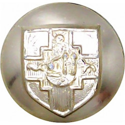 Bristol University Officers Training Corps 19.5mm - Gold Colour  Anodised Staybrite military uniform button