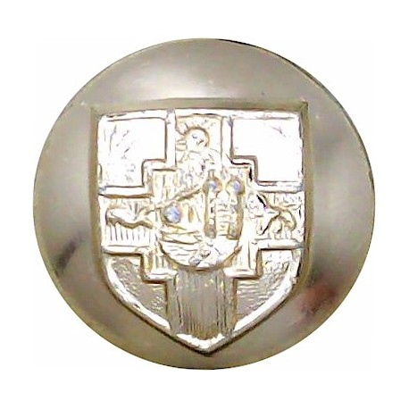Royal Scots Dragoon Guards 14mm - Gold Colour  Anodised Staybrite military uniform button