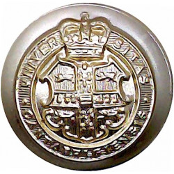 Sheffield University Officers Training Corps 19.5mm - Gold Colour  Anodised Staybrite military uniform button