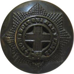 Coldstream Guards - Officers 19mm - No Rim  Bronze Military uniform button