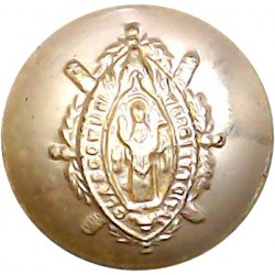 Glasgow University Training Corps (TA) 18.5mm - Gold Colour  Anodised Staybrite military uniform button