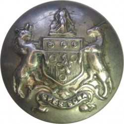 Cape Colony Units (South Africa) 17mm  White Metal Military uniform button
