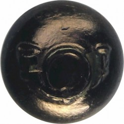 1st Punjab Infantry, Punjab Frontier Force (India) 13mm Ball Button  Brass Military uniform button