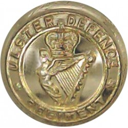 Sheffield University Officers Training Corps 25.5mm - Gold Colour Anodised Staybrite military uniform button