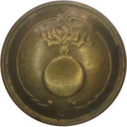 Belgian Grenadier Regiments 22mm - Pre-1915  Brass Military uniform button