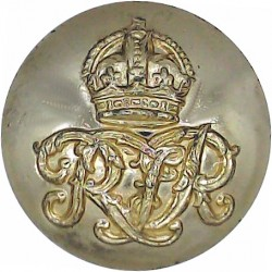 Adjutant General's Corps - 1st Pattern 14mm - Gold Colour Anodised Staybrite military uniform button