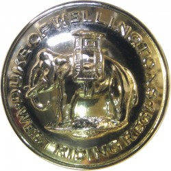 Lancashire Regiment (PWV) 1958-1970 19.5mm - Gold Colour Anodised Staybrite military uniform button