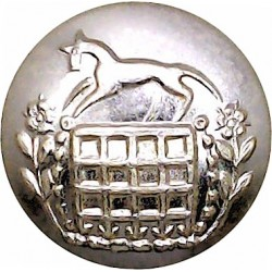 Berkshire & Westminster Dragoons - 1961-1967 19.5mm - Gold Colour  Anodised Staybrite military uniform button