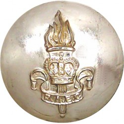 Royal Army Educational Corps 26mm - Gold Colour with Queen Elizabeth's Crown. Anodised Staybrite military uniform button