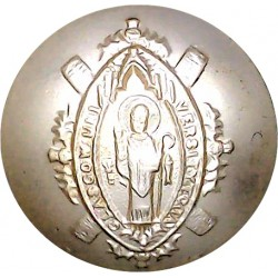 Glasgow University Training Corps (TA) 26mm - Gold Colour  Anodised Staybrite military uniform button