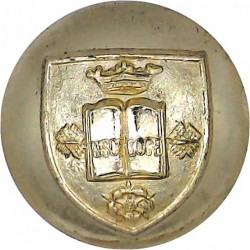 5th Royal Inniskilling Dragoon Guards 19.5mm - Gold Colour Anodised Staybrite military uniform button